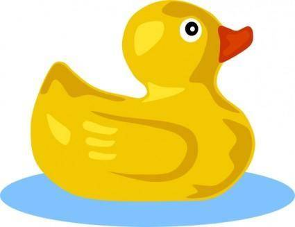 free vector Rubber Duck clip art