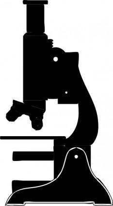 Microscope clip art