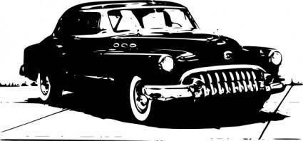 free vector Old Car clip art