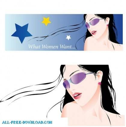 Free fashion vector 439