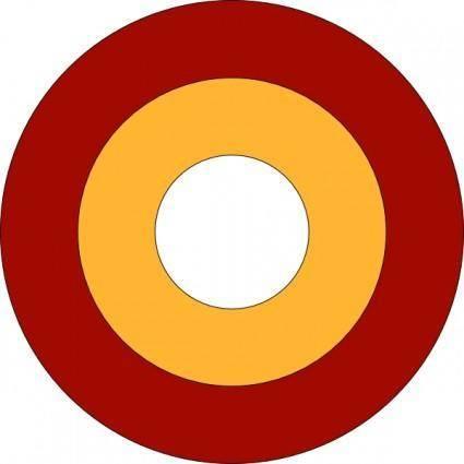 Roundel Qatar clip art