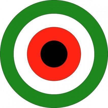 Roundel Kuwait clip art