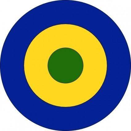 Roundel Gabon clip art