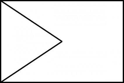 Flag Type Chevron clip art
