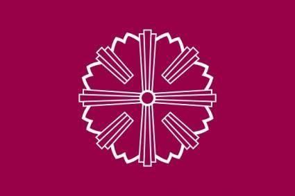 Flag Of Yonezawa Yamagata clip art