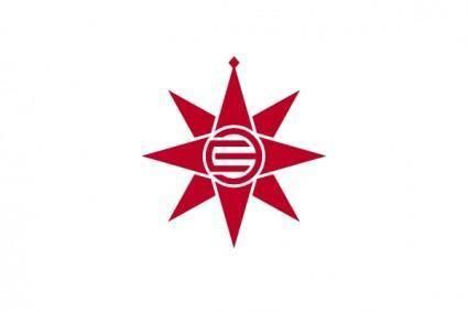 Flag Of Yokosuka Kanagawa clip art