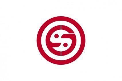 Flag Of Warabi Saitama clip art
