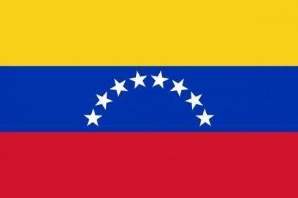 free vector Flag Of Venezuela clip art