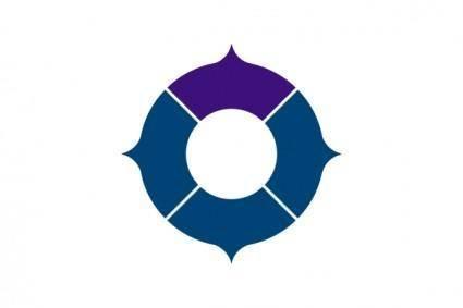 Flag Of Toyonaka Osaka clip art
