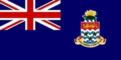 Flag Of The Cayman Islands clip art