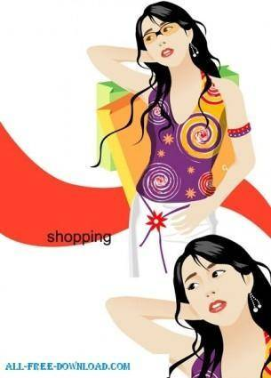 Free fashion vector 449