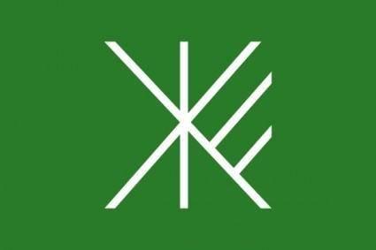 Flag Of Suginami Tokyo clip art