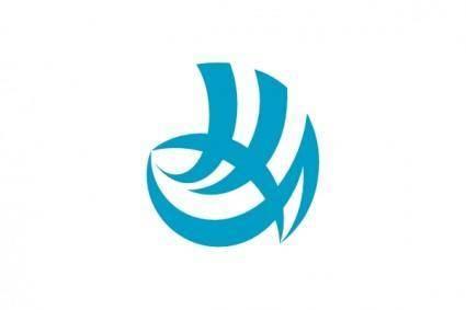Flag Of Shimonoseki Yamaguchi clip art