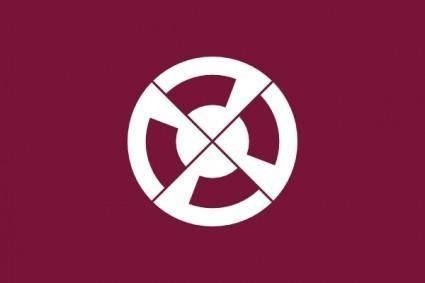 free vector Flag Of Shimabara Nagasaki clip art