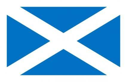 free vector Flag Of Scotland clip art