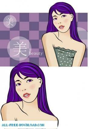 Free fashion vector 452