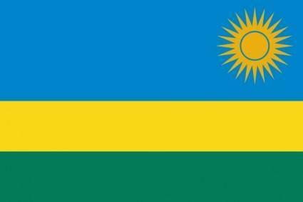 Flag Of Rwanda clip art