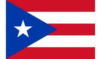 Flag Of Puerto Rico clip art