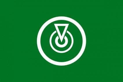 Flag Of Oshima Tokyo clip art