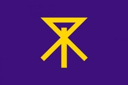 free vector Flag Of Osaka City clip art