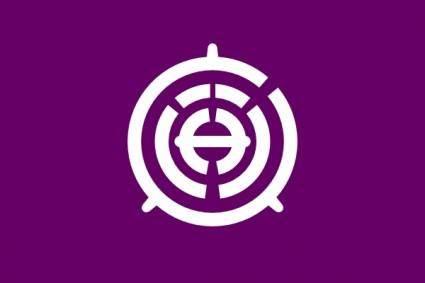 Flag Of Musashino Tokyo clip art