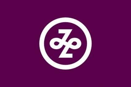 Flag Of Minato Tokyo clip art
