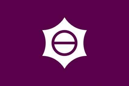 Flag Of Meguro Tokyo clip art