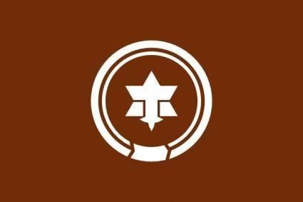 free vector Flag Of Matsumoto Nagano clip art
