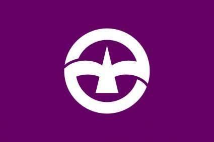 Flag Of Machida Tokyo clip art