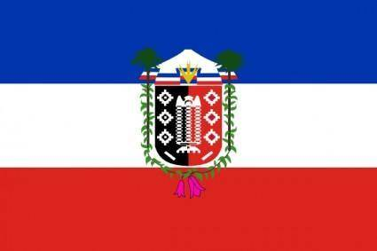 Flag Of La Araucania Chile clip art