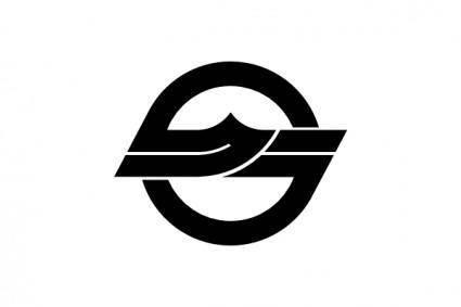Flag Of Kurashiki Okayama clip art