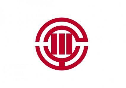 Flag Of Kawagoe Saitama clip art
