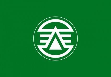 Flag Of Kasuga Fukuoka clip art