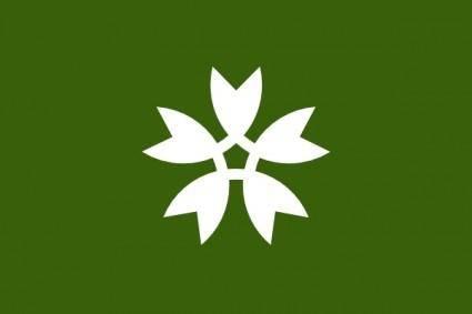 Flag Of Iwakuni Yamaguchi clip art