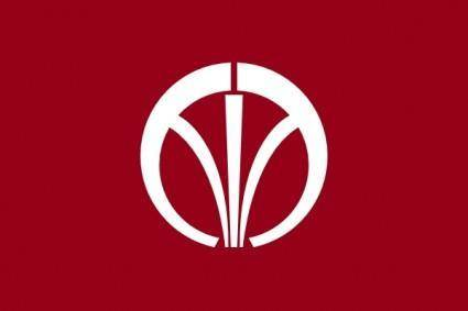 Flag Of Iizuka Fukuoka clip art