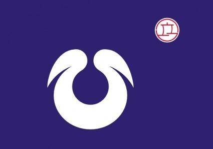 free vector Flag Of Hirakata Osaka clip art