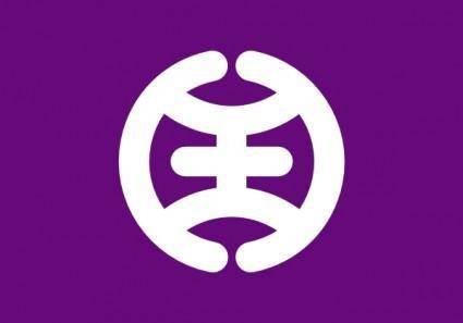Flag Of Hachioji Tokyo clip art