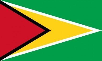 free vector Flag Of Guyana clip art