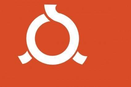 Flag Of Fukushima clip art