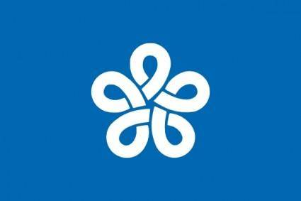 Flag Of Fukuoka Prefecture clip art