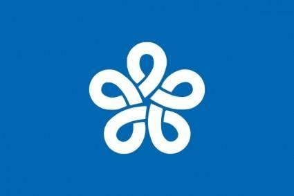 Flag Of Fukuoka Prefecture clip art
