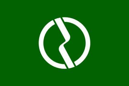 Flag Of Fuchu Tokyo clip art