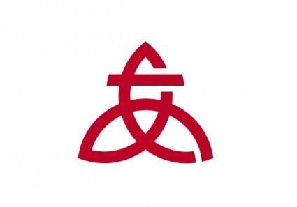 free vector Flag Of Atsugi Kanagawa clip art