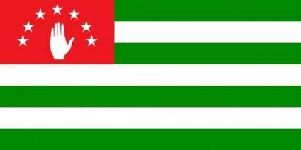 Flag Of Abkhazia clip art