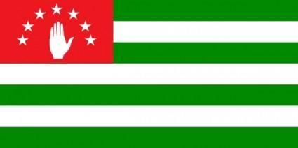 free vector Flag Of Abkhazia clip art