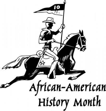 free vector African American History Month clip art