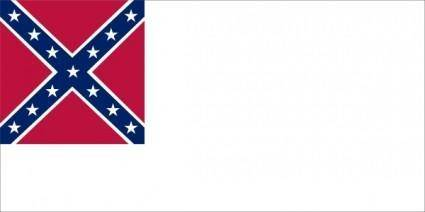 Confederate National Flag Since Mai To Mar clip art