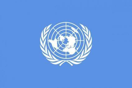 Flag Of The United Nations clip art