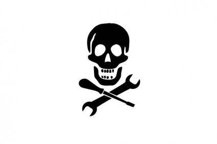 free vector Mechanic Pirate clip art