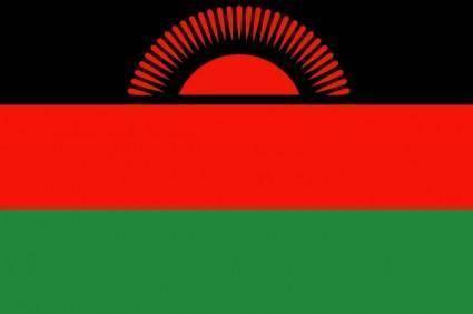 Malawi Flag clip art